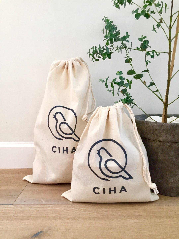 small AVT bag, avtbag, auditory verbal therapy, fabric bag, language training, language stimulation, ciha, ling-6 sound test