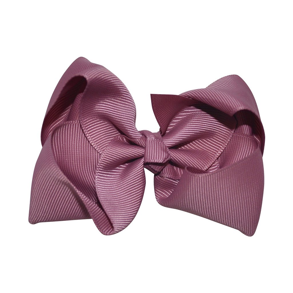 Pink bow from little olga 10 cm. Bows and headbands for girls