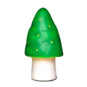 lille grøn svampelampe